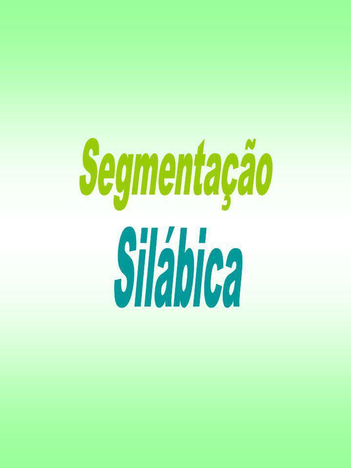 Segmentação Silábica
