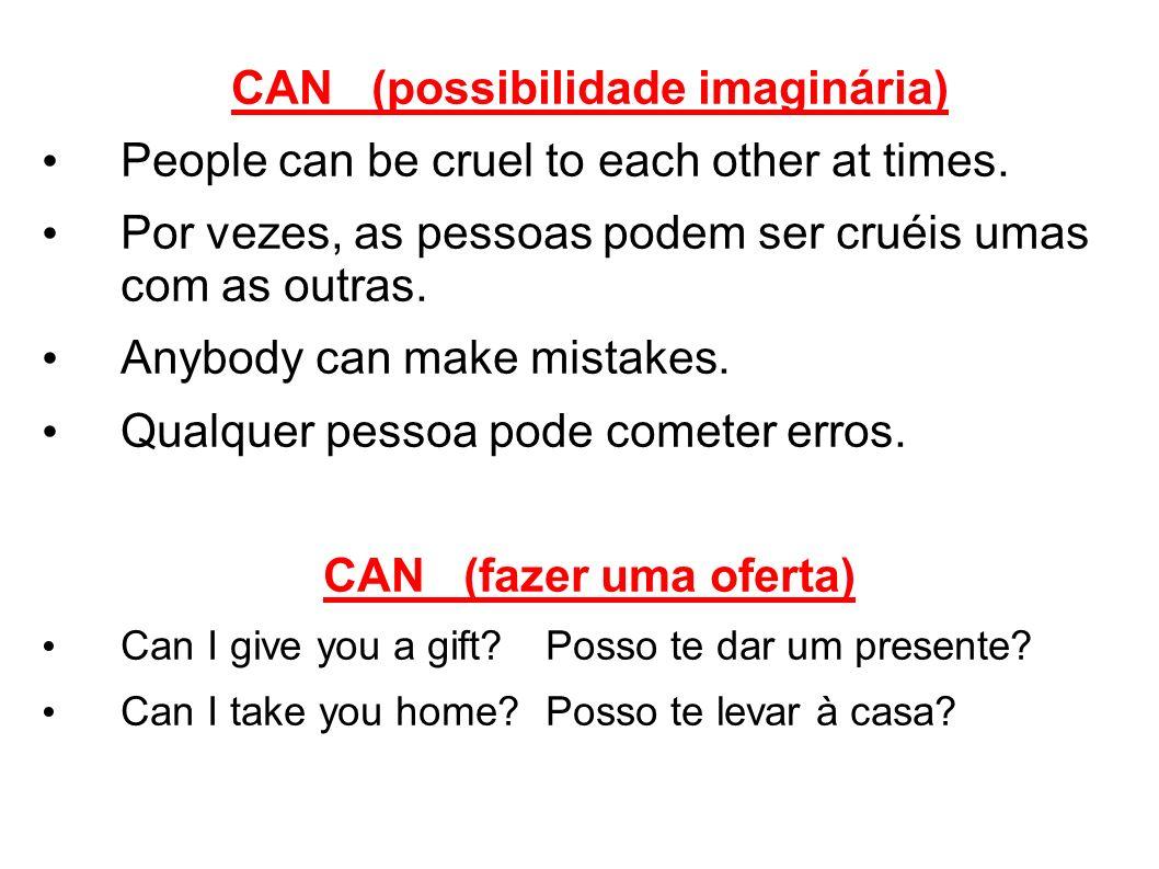 CAN (possibilidade imaginária)