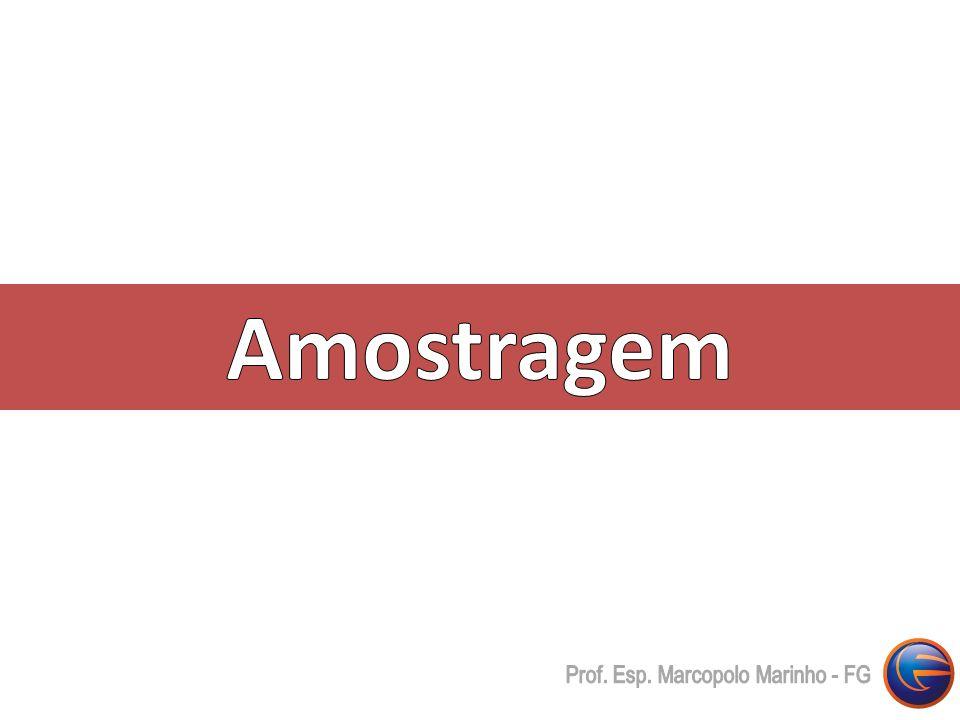 Amostragem Prof. Esp. Marcopolo Marinho - FG