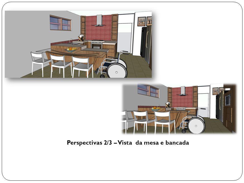 Perspectivas 2/3 – Vista da mesa e bancada