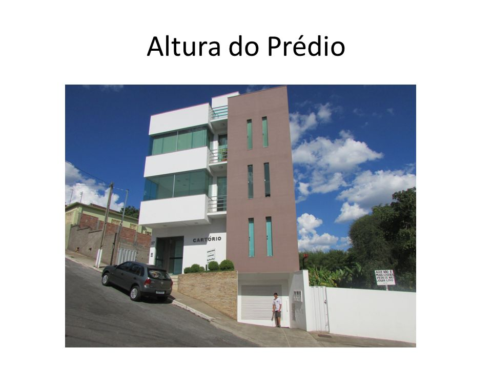Altura do Prédio