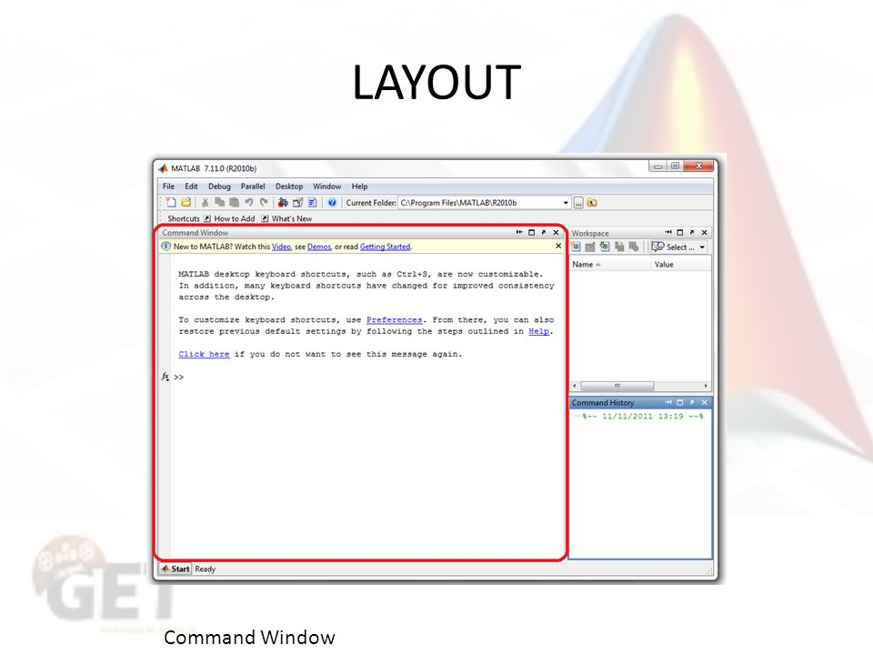 LAYOUT Command Window
