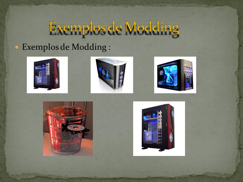 Exemplos de Modding Exemplos de Modding :