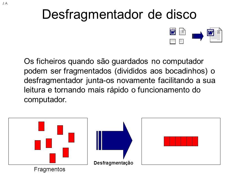 Desfragmentador de disco