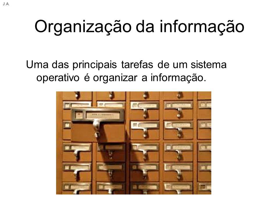 Organização da informação