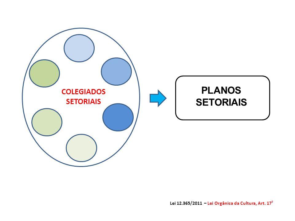 PLANOS SETORIAIS COLEGIADOS SETORIAIS