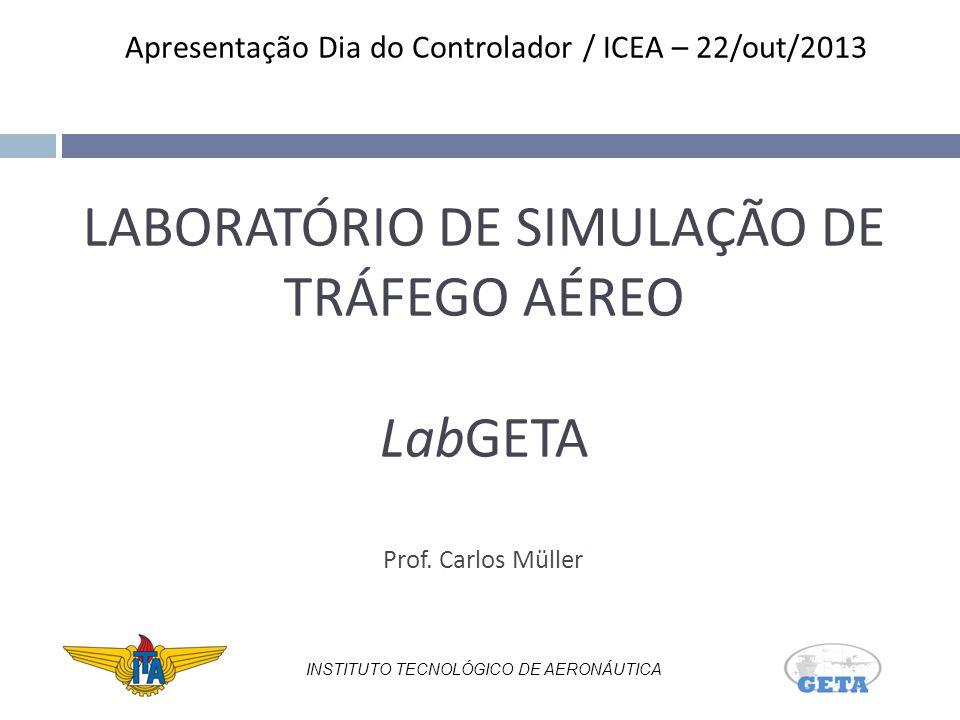 LABORATÓRIO DE SIMULAÇÃO DE TRÁFEGO AÉREO LabGETA Prof. Carlos Müller
