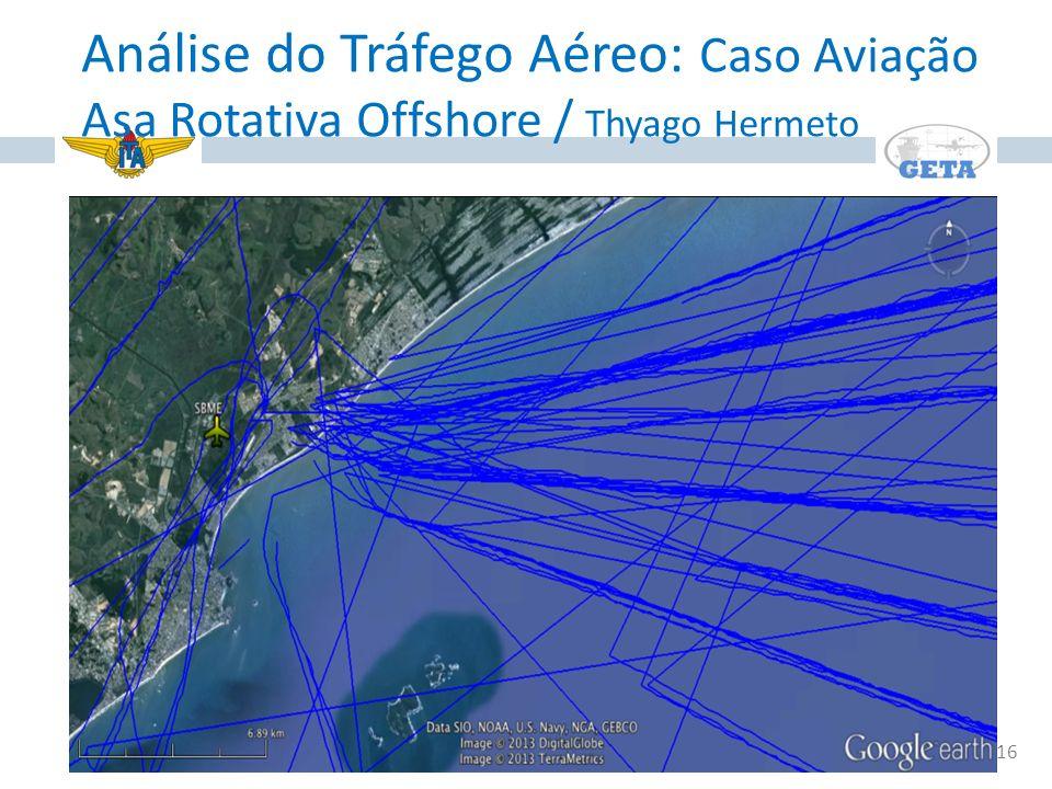 Análise do Tráfego Aéreo: Caso Aviação Asa Rotativa Offshore / Thyago Hermeto
