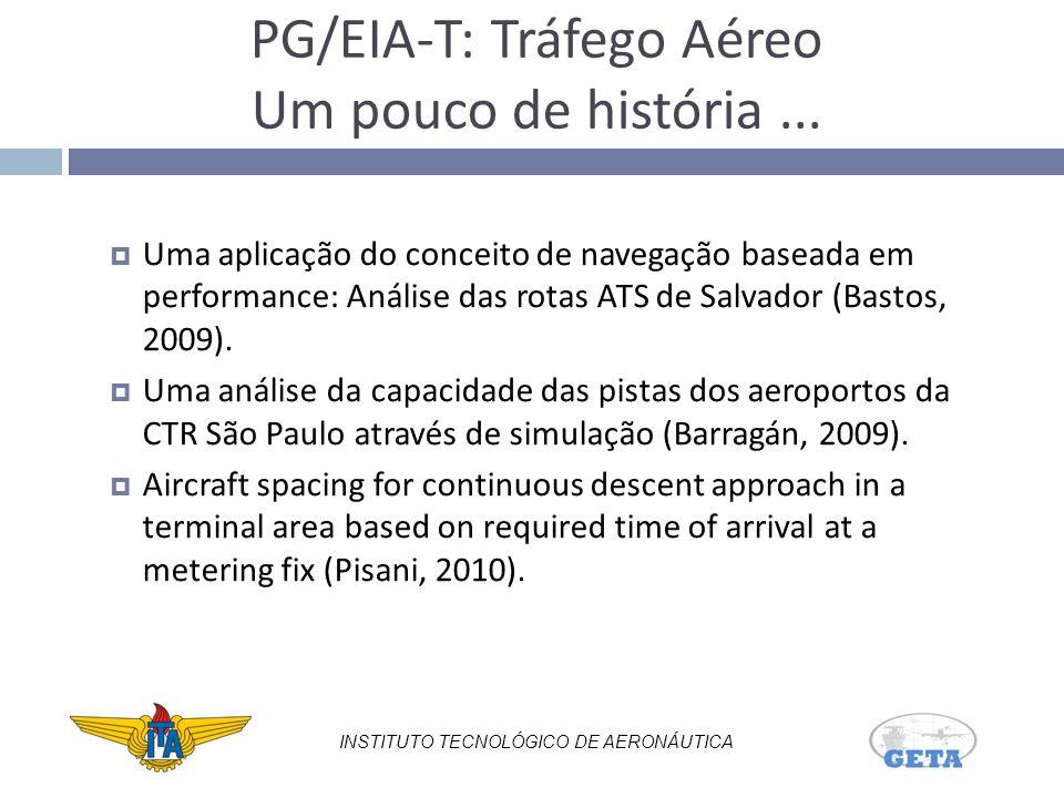 PG/EIA-T: Tráfego Aéreo Um pouco de história ...