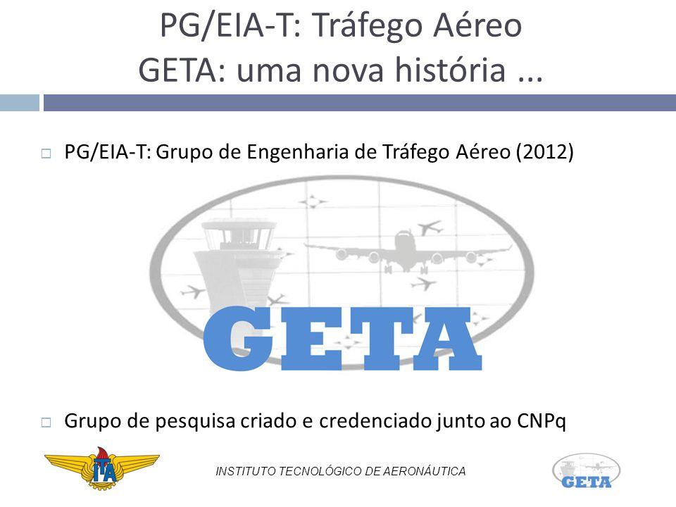 PG/EIA-T: Tráfego Aéreo GETA: uma nova história ...