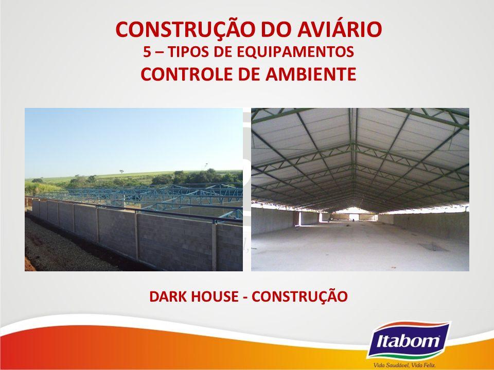 5 – TIPOS DE EQUIPAMENTOS DARK HOUSE - CONSTRUÇÃO
