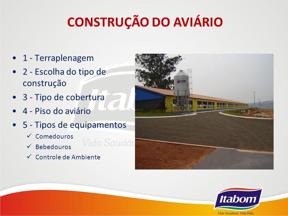 CONSTRUÇÃO DO AVIÁRIO 1 - Terraplenagem