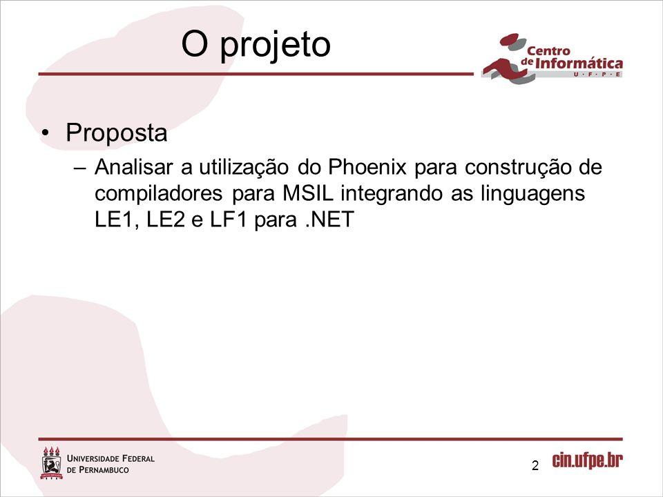 O projeto Proposta.