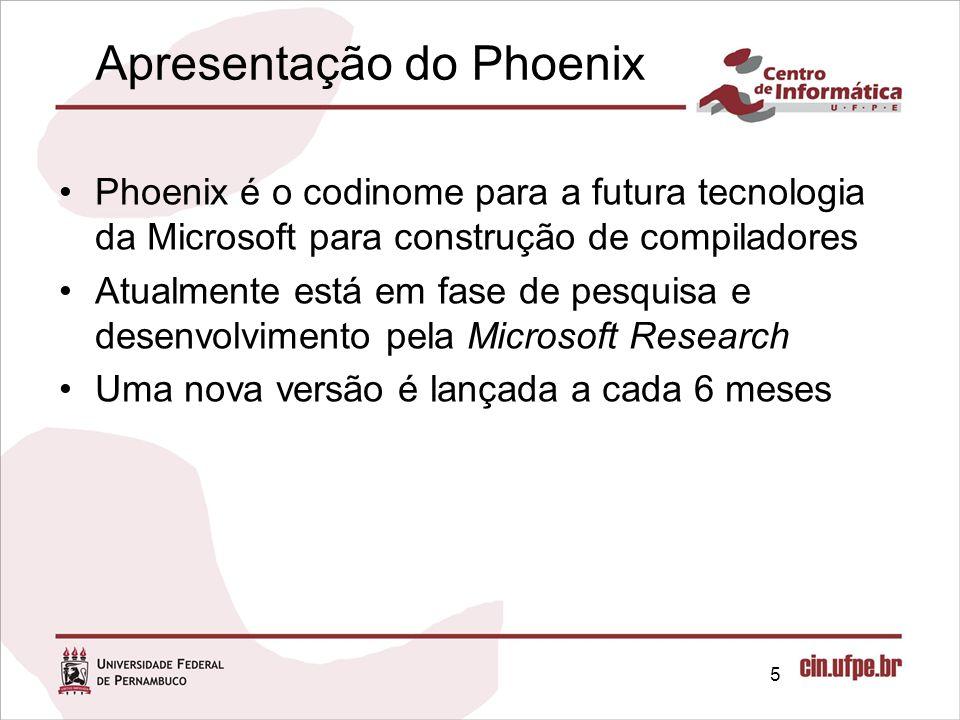 Apresentação do Phoenix