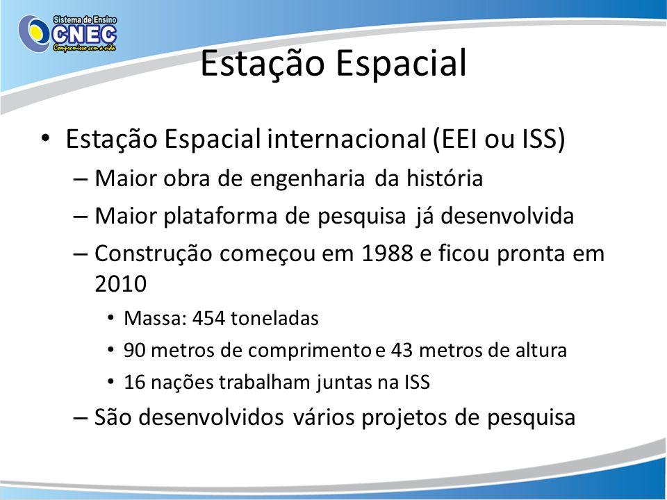 Estação Espacial Estação Espacial internacional (EEI ou ISS)