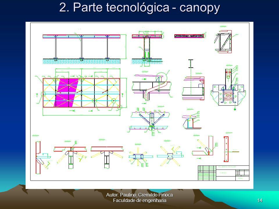 2. Parte tecnológica - canopy