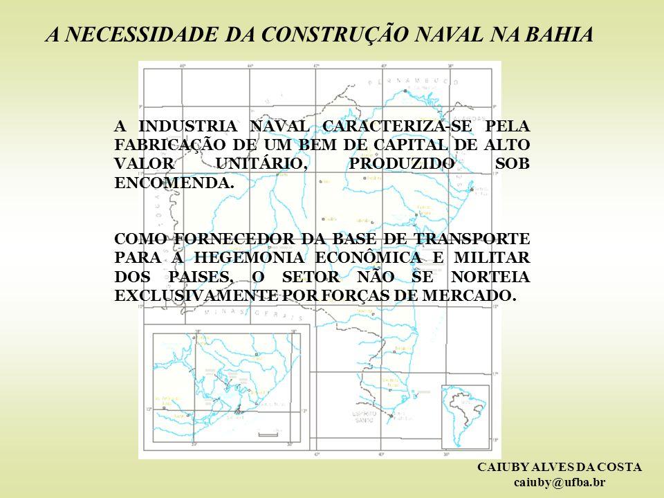 A NECESSIDADE DA CONSTRUÇÃO NAVAL NA BAHIA