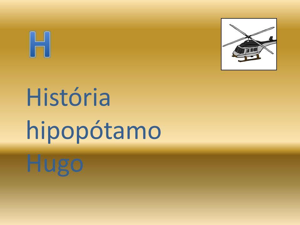 História hipopótamo Hugo