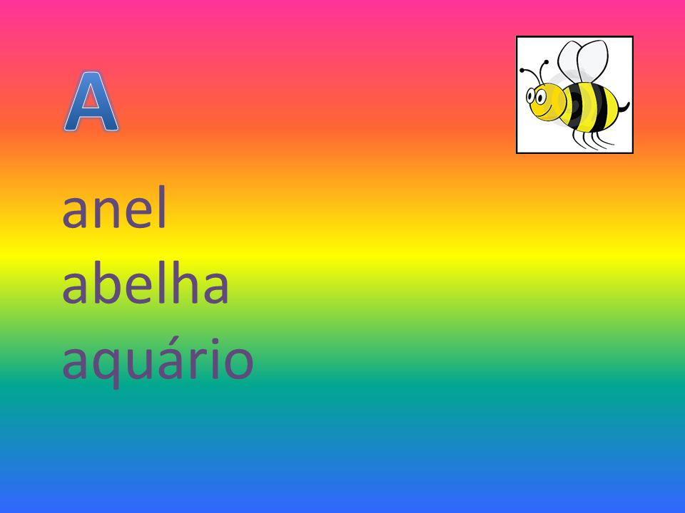 A anel abelha aquário
