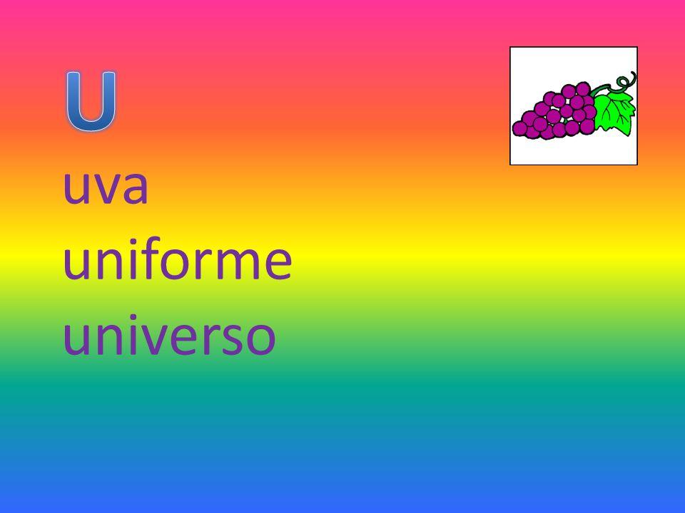 U uva uniforme universo