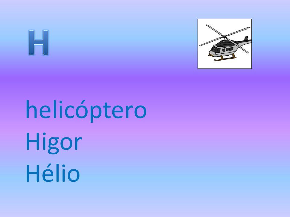 helicóptero Higor Hélio