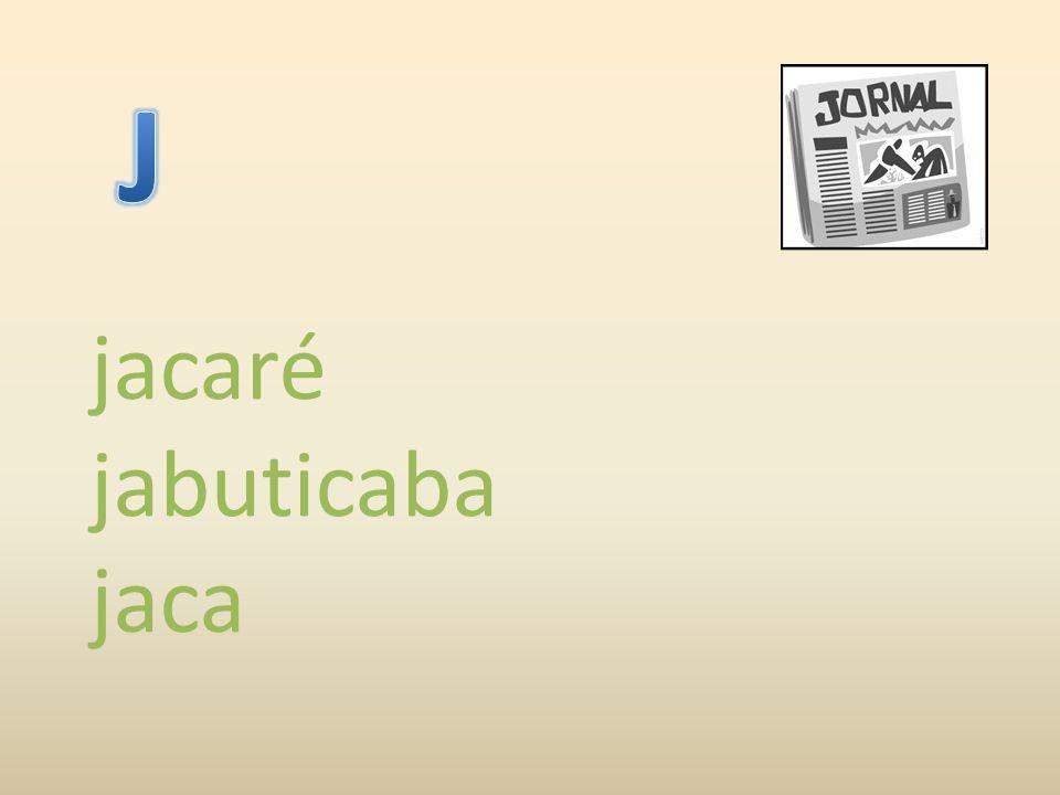 jacaré jabuticaba jaca
