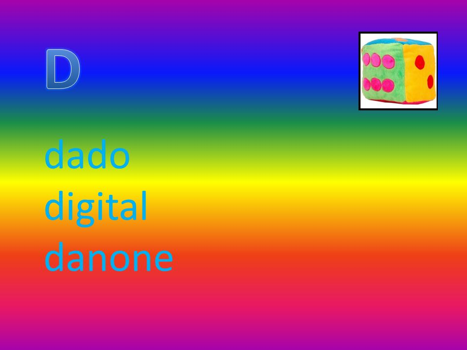 D dado digital danone