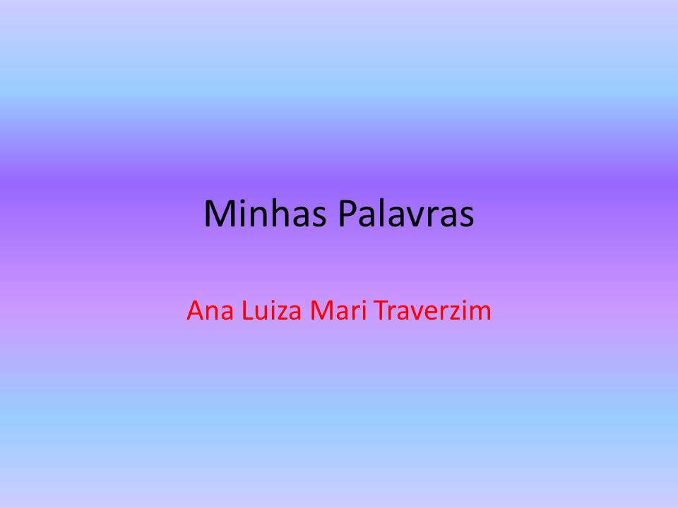 Ana Luiza Mari Traverzim
