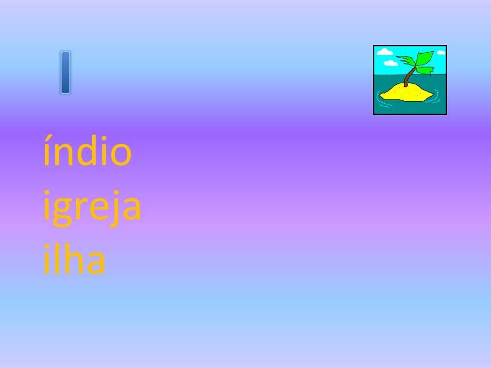 I índio igreja ilha