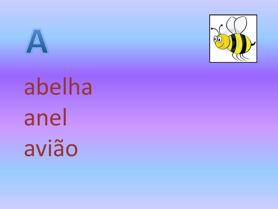 A abelha anel avião