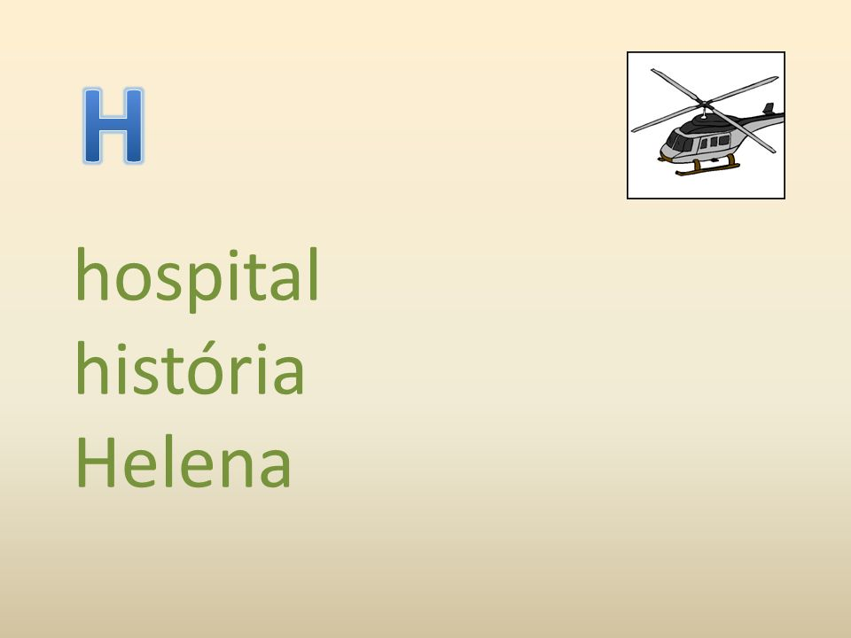 hospital história Helena