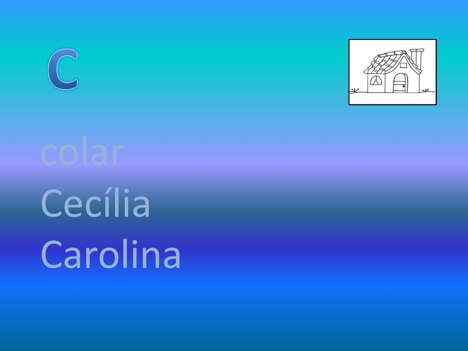 colar Cecília Carolina