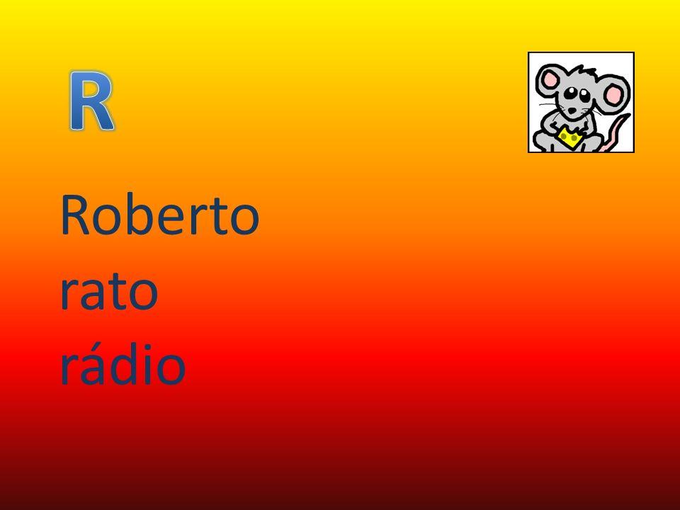 R Roberto rato rádio