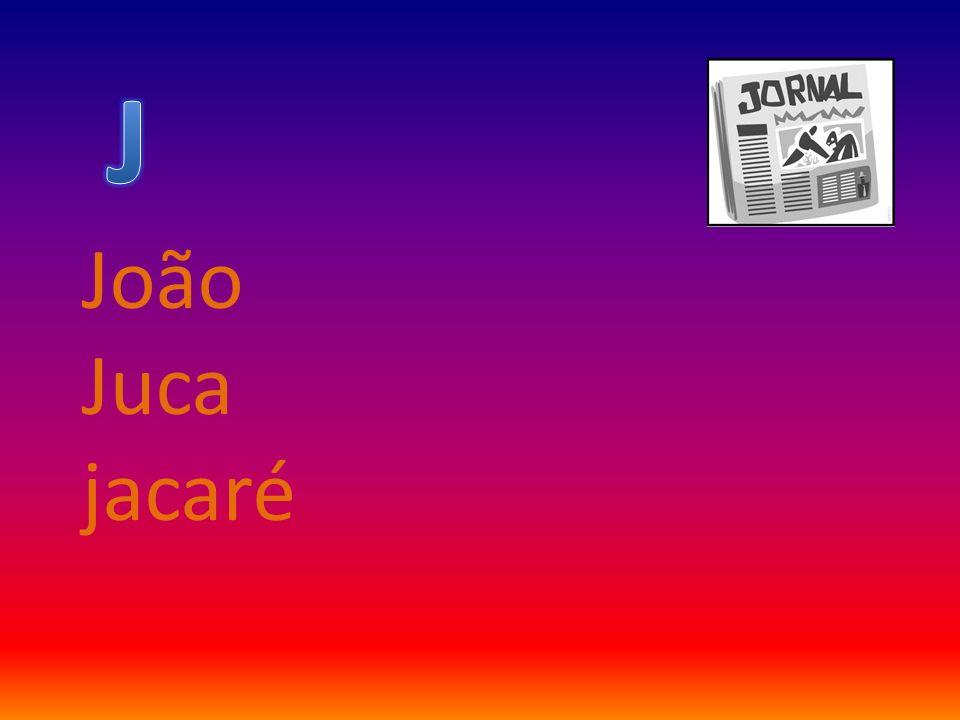 J João Juca jacaré