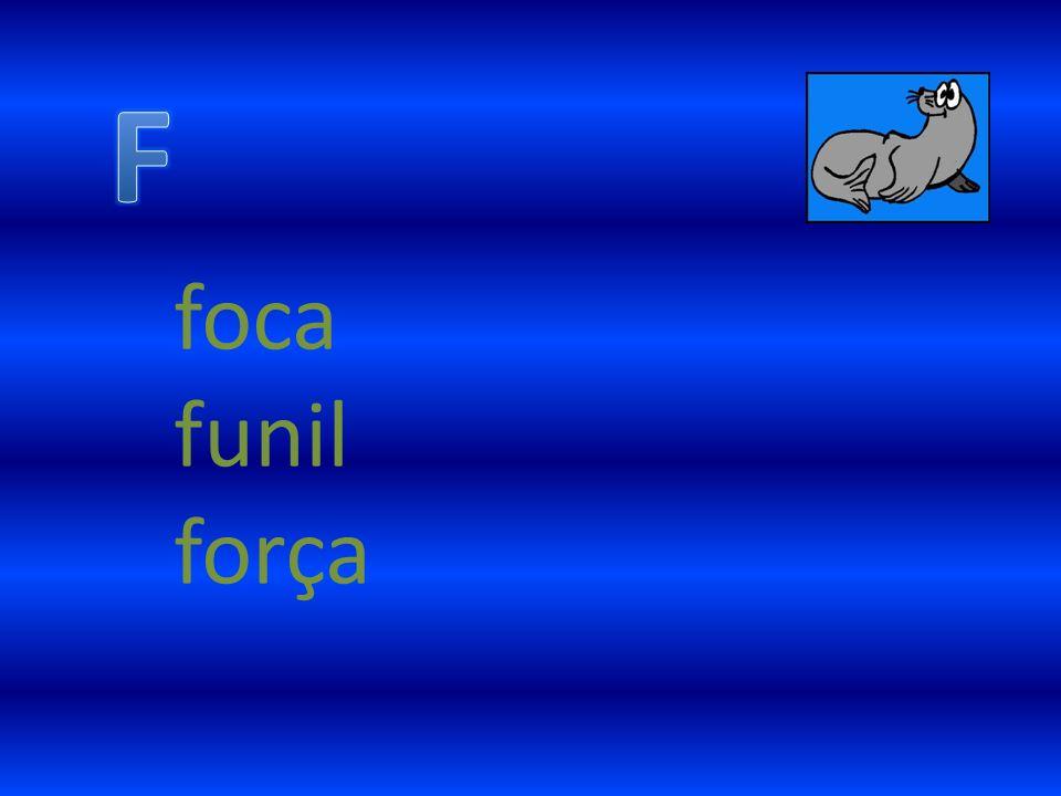 F foca funil força