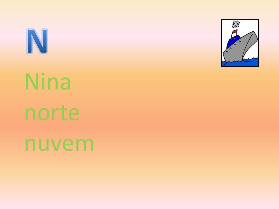 N Nina norte nuvem