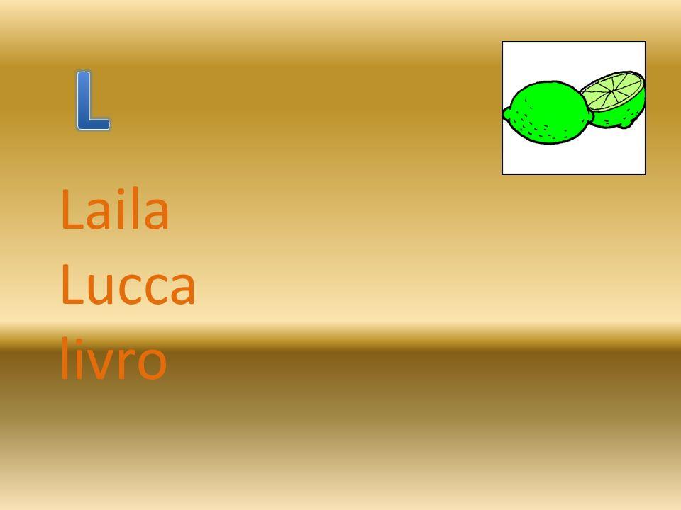 L Laila Lucca livro