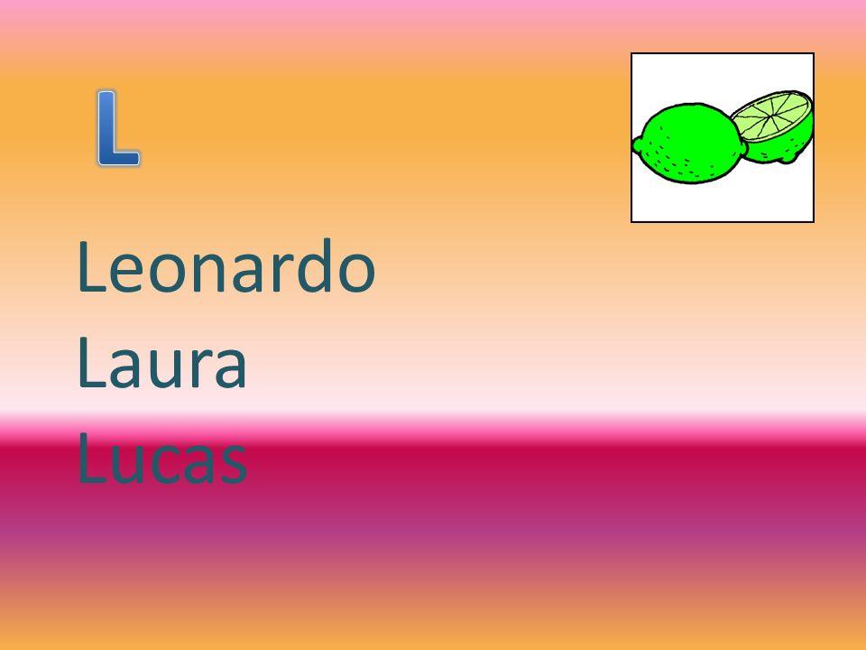 L Leonardo Laura Lucas