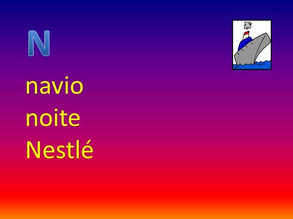 N navio noite Nestlé