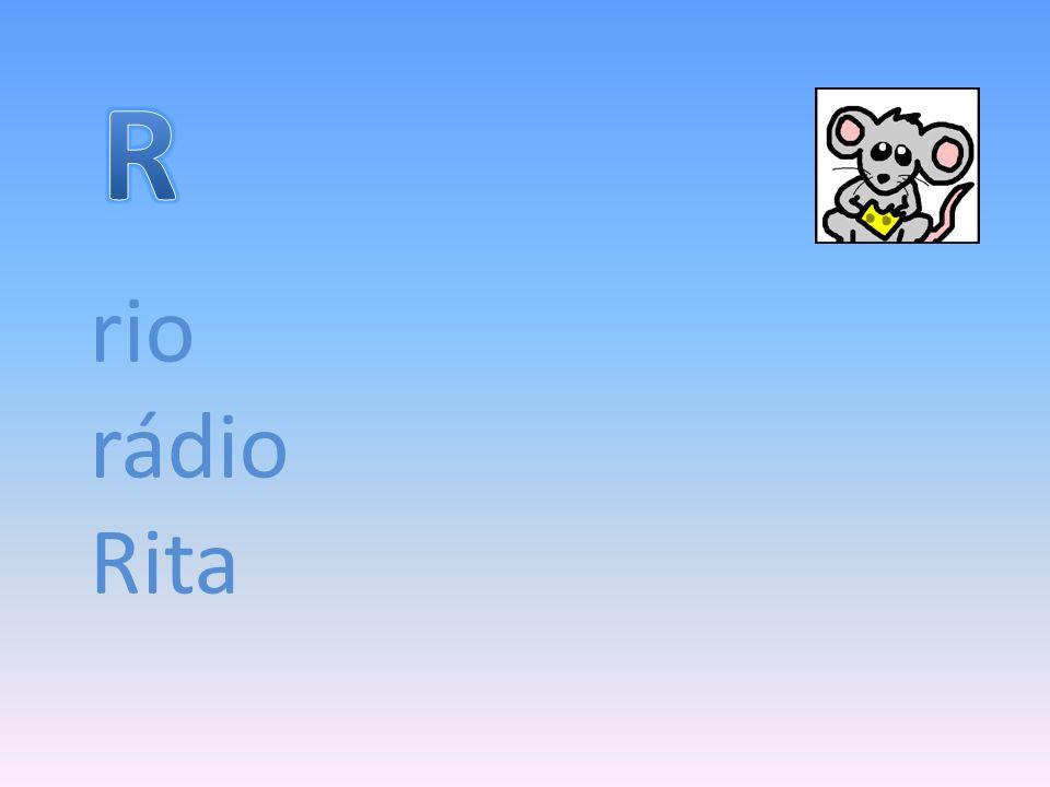 R rio rádio Rita