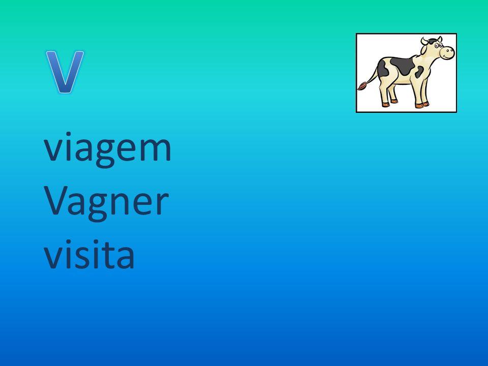 V viagem Vagner visita