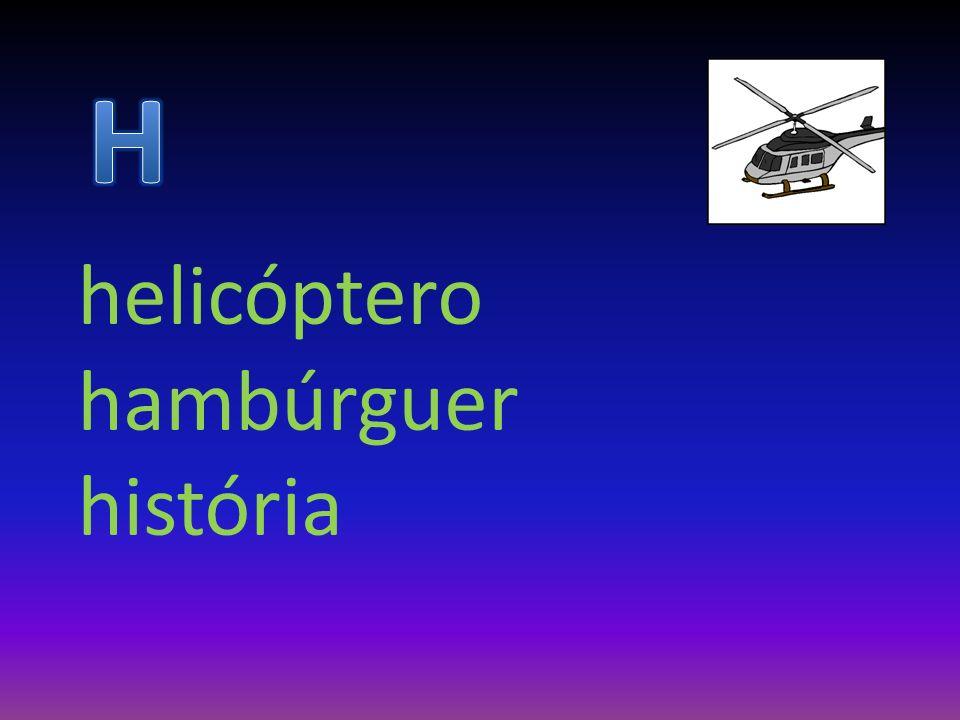helicóptero hambúrguer história
