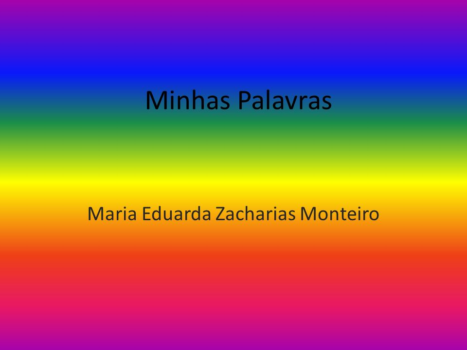 Maria Eduarda Zacharias Monteiro