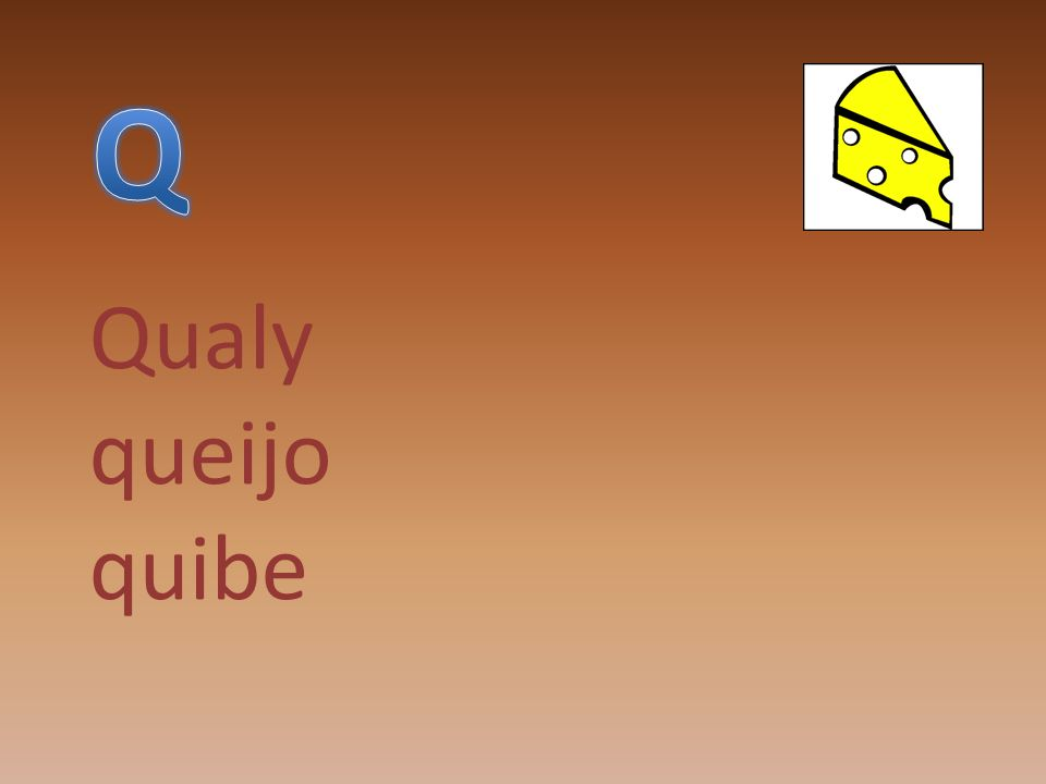 Q Qualy queijo quibe