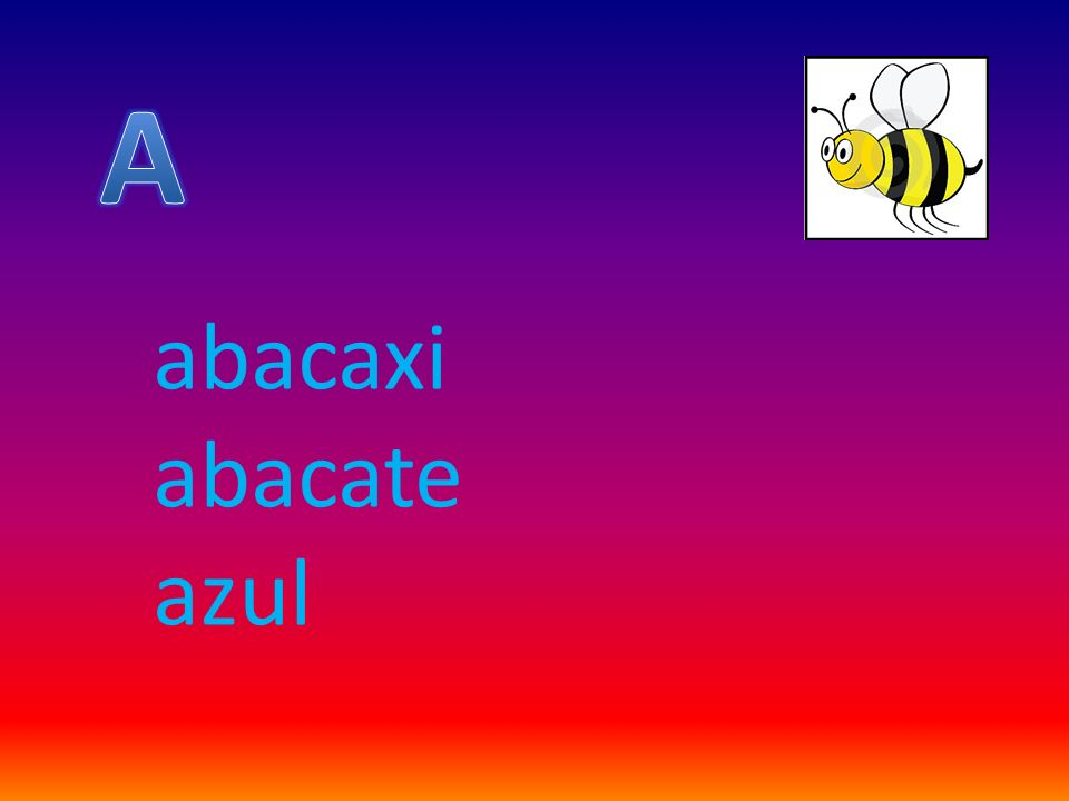 A abacaxi abacate azul