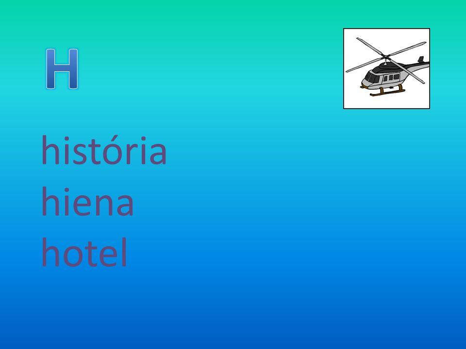 H história hiena hotel