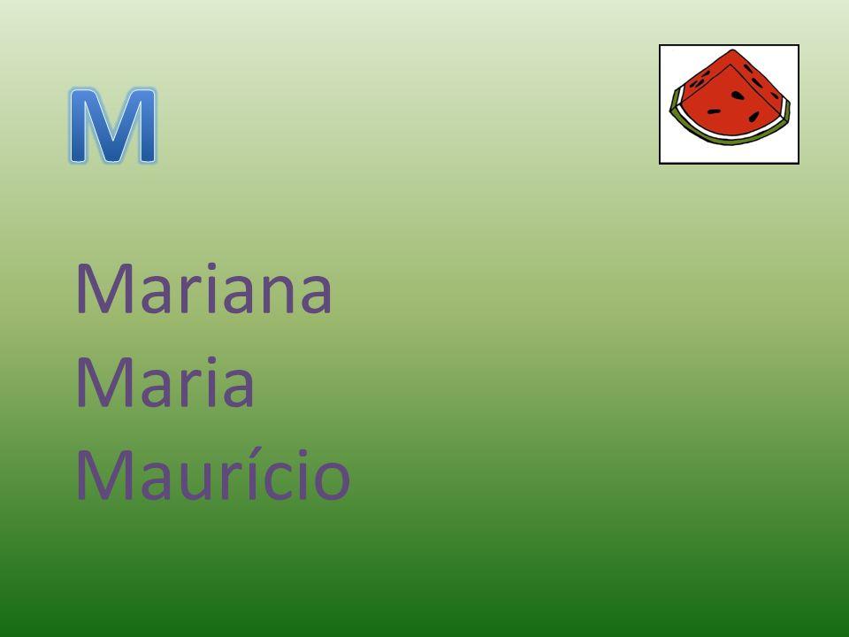 Mariana Maria Maurício