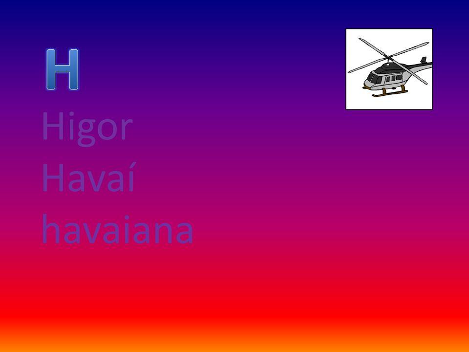 H Higor Havaí havaiana