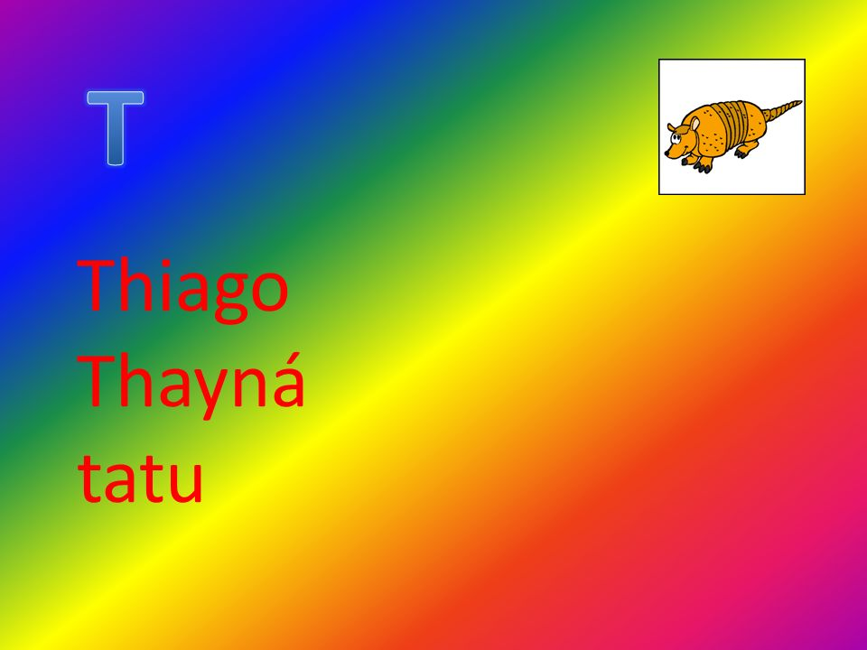 T Thiago Thayná tatu