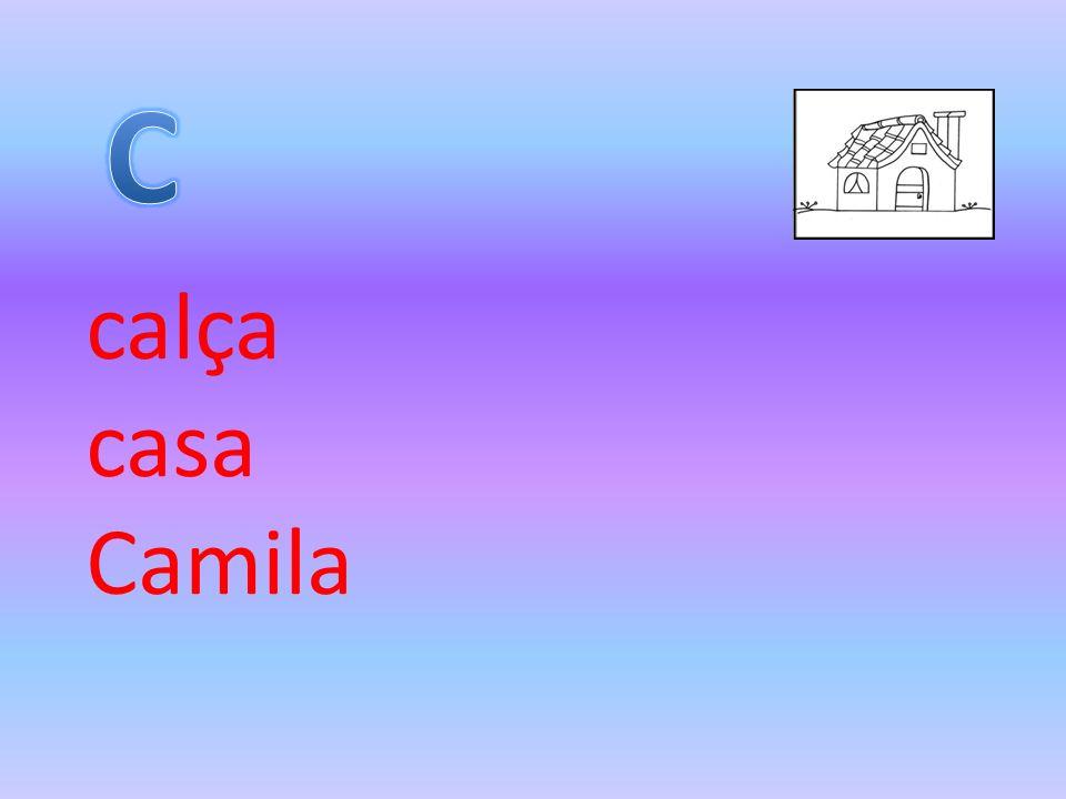 C calça casa Camila